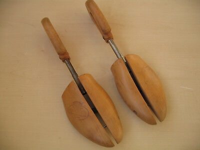 Church's Vintage Wooden Shoe Trees Shapers Stretchers
