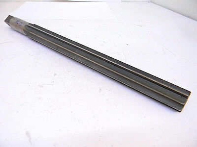 "USED MR&T CO. #12 TAPER PIN REAMER 1.05"" Large Dia. x .8420"" Small Dia.  HSS"
