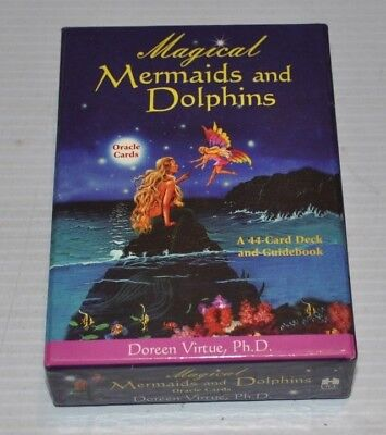 MAGICAL MERMAIDS and DOLPHINS Cards & Guidebook Doreen  Virtue