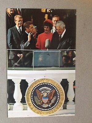 Vintage Political Postcards - set of 12 - Carter - Reagan - American Presidents