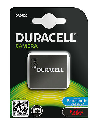 Genuine Duracell Battery for Panasonic Batt P/No  CGA-S005, CGR-S005, DMW-BCC12