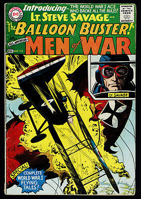 1965 DC All American Men of War #112 GD+