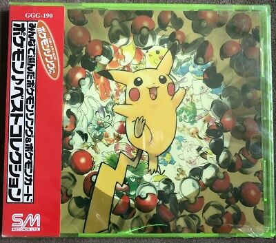 Pokemon Song Pokemon Best Collection selected in Minna CD - NEW
