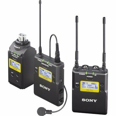 Sony UWPD16CE33 UWP D Lavalier Plug On Wireless Microphone System CE33
