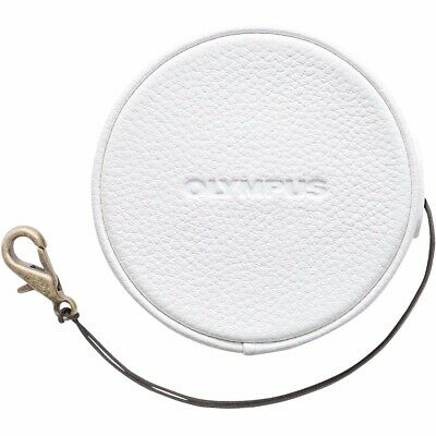 Olympus LC-60.5 GL White Leather Lens Cap
