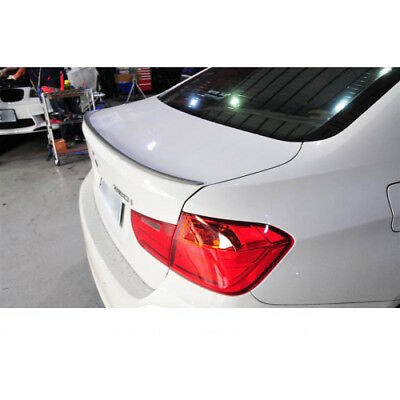 Bmw 3 Series F30 F80 M3 M Sport Style Trunk Boot Spoiler 100% Oem Fit Unpainted