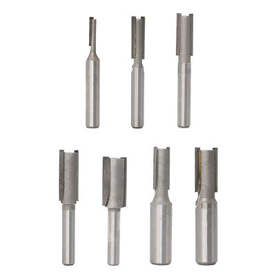 Shank T-Slot Cutter Router Bit For Woodworking Milling Tool 7 Sizes Optional