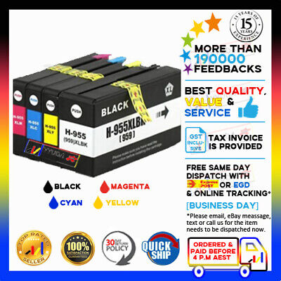 (NoN-OEM) 955XL Ink Cartridges for HP Officejet Pro 7740 8210 8710 8730 8740