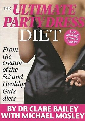 The Ultimate Party Dress Diet..Clare Bailey/Michael Mosley..Daily Mail x 6 Parts
