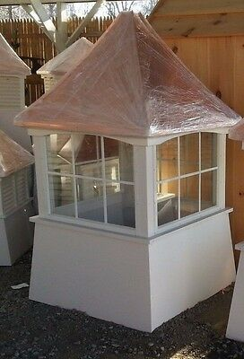 48'' vinyl window Cupolas /(1)----Beautiful and high quality AS SHOWN IN STOCK !