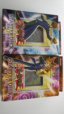 Yu-Gi-Oh!, SEALED 2002 Starter Decks Yugi & Kaiba. Unlimited Edition For Europe.