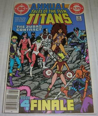 TALES OF THE TEEN TITANS ANNUAL #3 (DC Comics 1984) 2nd app NIGHTWING (FN)