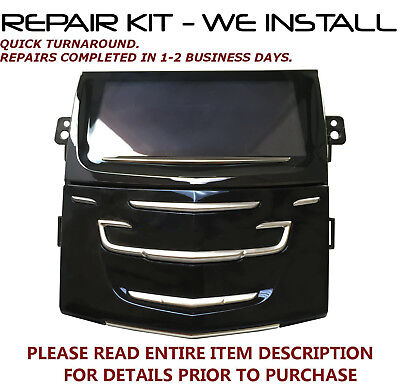 REPAIR SERVICE FOR Cadillac Radio Touch Screen CUE TouchSense NAVIGATION DISPLAY