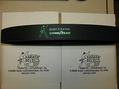 """""""lot"""" New"""" Genuine Karata Belt With Kevlar Cord132Tooth/8.07Mm/1.3/4""""pulley+Nut"""
