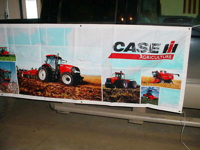 Case IH Tractor Combine Dealers  BANNER 119'' LONG X 33''HIGH