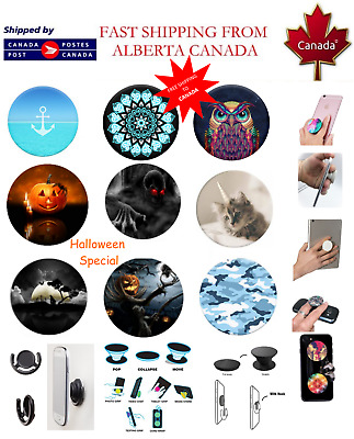 Fashion Phone Universal Pop Socket - Expandable Stand Grip Popup iPhone Samsung