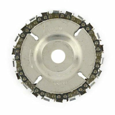 """AGT SS458 Superior Steel 4"""" 22 Tooth Fine Cut Grinder Disc and Chain"""