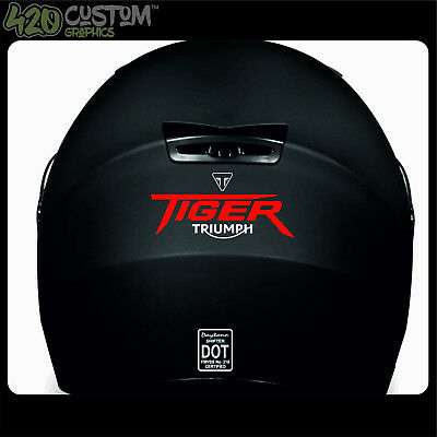 TRIUMPH TIGER HELMET KIT Decal Sticker Detail-Best Quality-Many Colours