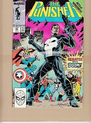 THE PUNISHER REMATCH With Doom 29 Jan 1990 Comic 432171