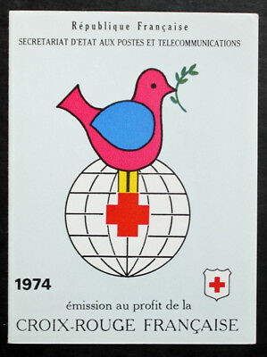 stamp FRANCE / FRENCH stamp - Yvert Tellier Notebook Cross Red n°2023 (Cyn25) D