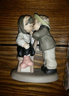 """Kim Anderson Pretty as a Picture Figurine w/box """"I Promise You We Will Always.."""""""