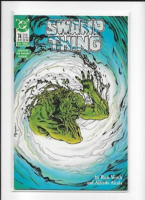 Swamp Thing #74 Decent (7.0) Dc