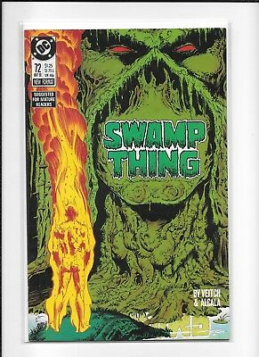Swamp Thing #72 (6.5) Dc Copper Veitch