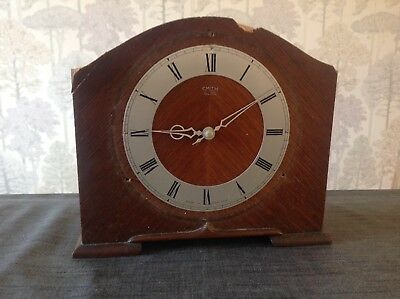Antique Electric Smiths Sectric Clock For Restoration 9 X 8 X 3""