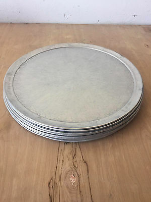 Aluminum 18-inch Pizza Pan Lot (12 pieces)