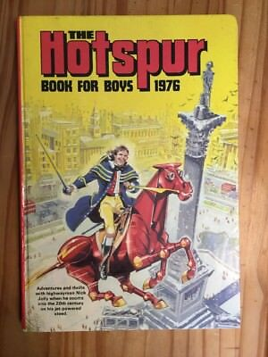 Hotspur Book for Boys 1976(Annual) (Hardcover) Book ,clipped,Good