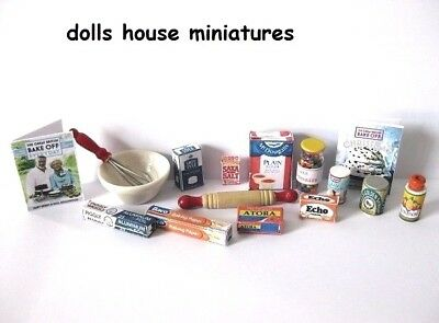 Baking Set Doll Shouse Miniatures
