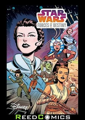 STAR WARS ADVENTURES FORCES OF DESTINY GRAPHIC NOVEL Collects Issues #1-5
