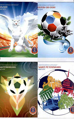Host Cities - Panini World Cup Russia 2018 - (020-031)