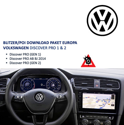 Blitzer EU Download Paket VW Discover Pro - 03/2019