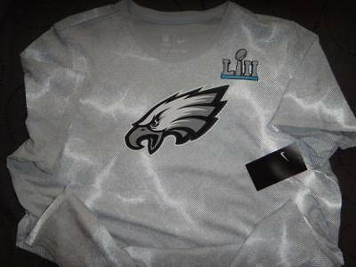 4879cef7a61 Nike Philadelphia Eagles Super Bowl Lii Nfl Shirt 2Xl Men Nwot $52.00