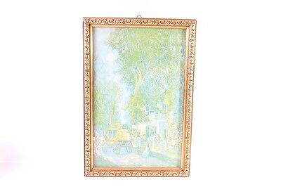 Very Beautiful Old Picture Frames Wood Glass with Picture Wood Frame