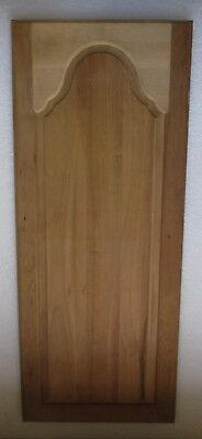 "NEW UNFINISHED CHERRY GOTHIC ARCH CABINET CUPBOARD DOOR 17"" wide x 41 1/2"" high"