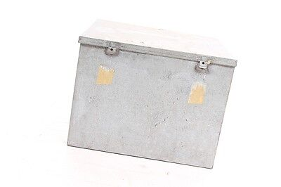 Antique Box Metal Industrial Design Metal Box Decor Workshop Collector