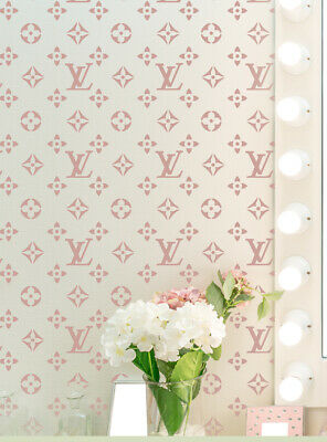 Famous design Stencil or Vinyl decal (NEW) template Pattern Cake Furniture TE264