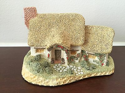 David Winter Rose Cottage by 1980 Figurine Boxed