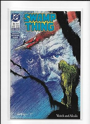 Swamp Thing #71 (9.0) Dc Copper Veitch