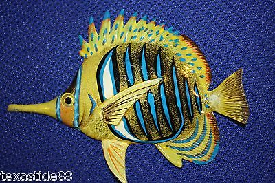 "(1) 6"", Seafood Decor,coral Reef, Tropical Fish Wall Decor,realistic, 3D, F-179"