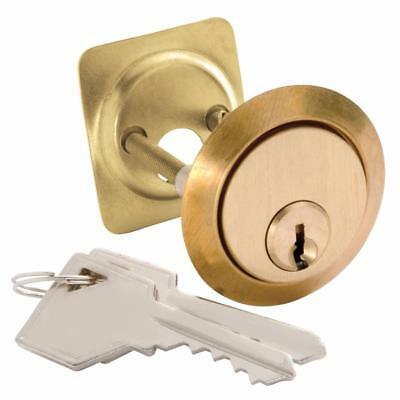 Hickory 1150 Replacement 5-Pin Rim Cylinder Door Lock Keys Polished Brass