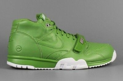 big sale a900a 42e80 Nike Air Trainer 1 Mid Sp Fragment Sz 7.5 Chlorophyll Green White 806942 331
