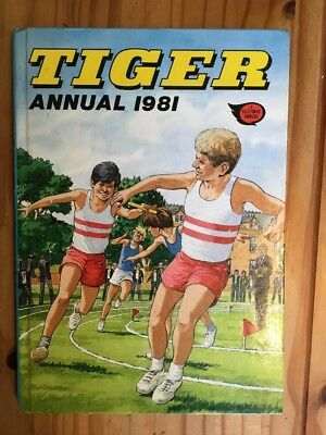 Tiger annual 1981, Unclipped, In Very Good Condition, No Pen Marks
