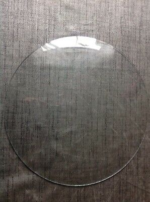 "Convex Clock Glass  280mm 11"" Diameter Spare Fart For Antique Clock Repair"