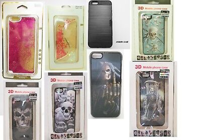 Wholesale lot Iphone case 3D Full Body Armor Card Slot Glitter Total 58 pcs SALE