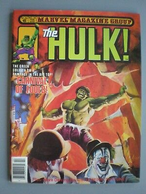 The Hulk No.25 Marvel Magazine Group 1981 Comic Is In Unread Condition