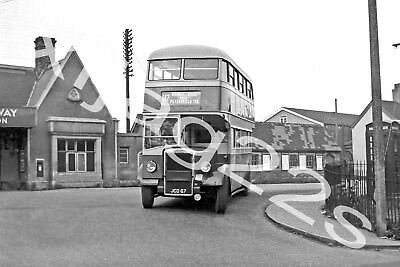 Bus photograph west yorkshire road car twy 610 dx 68 for West motor company kingston