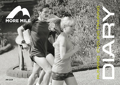 More Mile Running & Cycling Training Diary Tracker